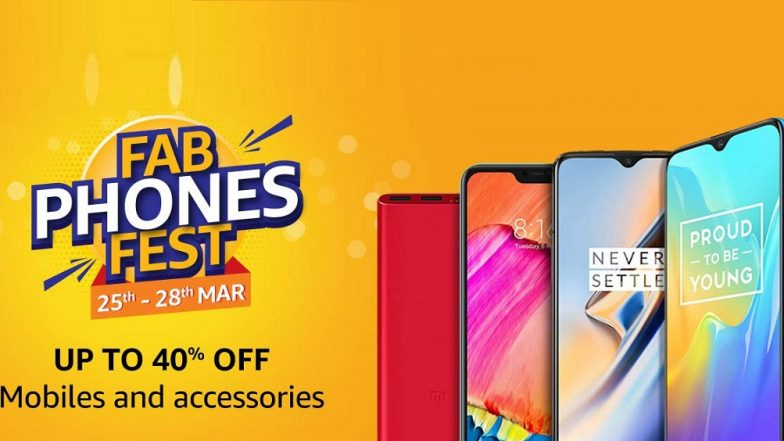 Amazon Fab Phones Fest Sale 2019: Discounts & Offers Up to Rs 4000 on Vivo Y83 Pro, Huawei Y9, Realme U1, Xiaomi Mi A2 & Other Smartphones