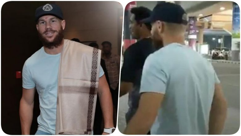 David Warner Joins Sunrisers Hyderabad for IPL 2019; SRH Welcomes the Australian Batsman (See Pics)