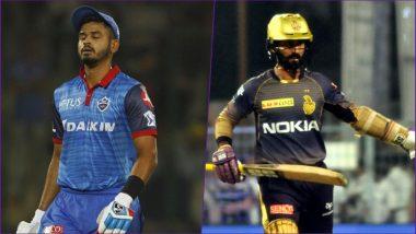 DC vs KKR Head-to-Head Record: Ahead of IPL 2019 Clash, Here Are Match Results of Last 5 Delhi Daredevils vs Kolkata Knight Riders Encounters!