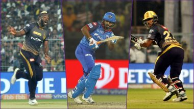 DC vs KKR, IPL 2019 Match 10 Key Players: Andre Russell to Rishabh Pant to Nitish Rana, These Cricketers Are to Watch Out for at Feroz Shah Kotla