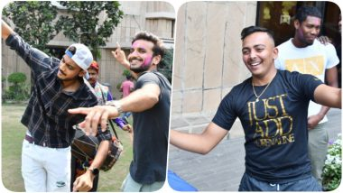 Holi 2019: Team Delhi Capitals Celebrate Festival of Colours Ahead of their First IPL 12 Game Against Mumbai Indians (See Pics and Video)