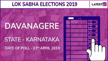 Davangere Lok Sabha Constituency in Karnataka Results 2019: BJP Candidate GM Siddeshwar Elected MP
