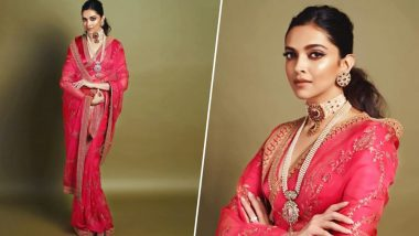 Deepika Padukone's First Inside Pic From Akash Ambani-Shloka Mehta's Wedding Ceremony Goes Viral!