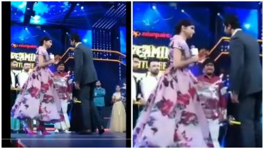 Deepika Padukone and Ranbir Kapoor Rock The Stage With Their Camaraderie and Performance on Aankh Maarey! (View Pics and Videos)