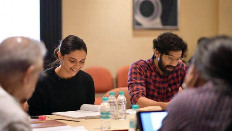 Deepika Padukone is Visibly Excited to Work With Vikrant Massey in Meghna Gulzar's Chhapaak (View Pic)