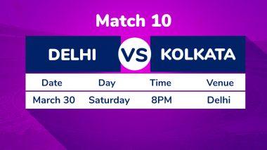 DC vs KKR, IPL 2019 Match 10 Preview: Kolkata Knight Riders Hold Edge Against Delhi Capitals