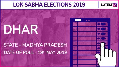 Dhar Lok Sabha Constituency Result 2019 in Madhya Pradesh: Chattar Singh Darbar of BJP Wins Parliamentary Election