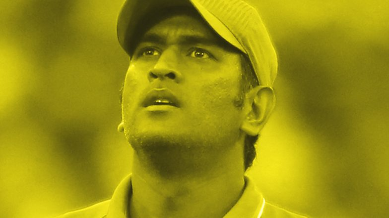 MS Dhoni Hits Masterful 75 During CSK vs RR in IPL 2019 Match at Chennai, Registers 21st Fifty in Indian Premier League