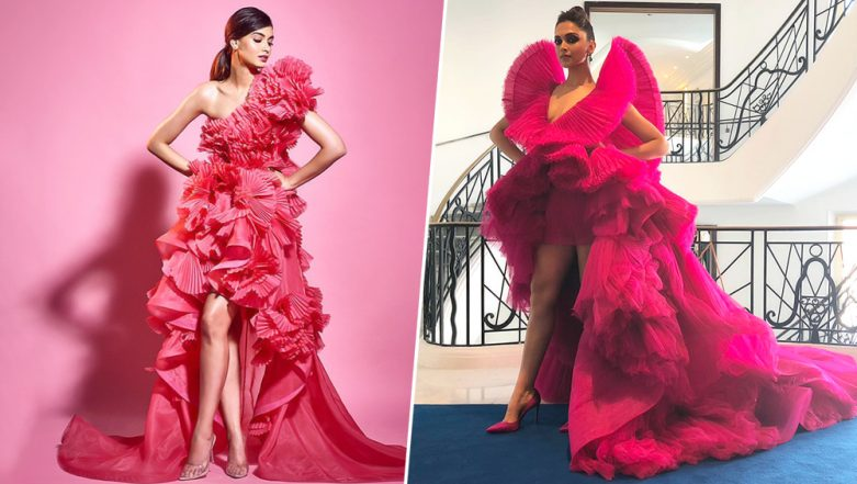 Diana Penty's Filmfare Awards 2019 Gown Is Strikingly Similar to Deepika Padukone's Ashi Studio Gown From Cannes 2018 (View Pics)