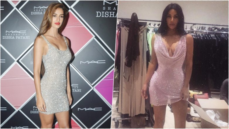 Disha Patani and Kim Kardashian West Sizzle in Sexy Cleavage-Revealing Sequined Mini Dress – Who Looks Hotter? (View Pics)