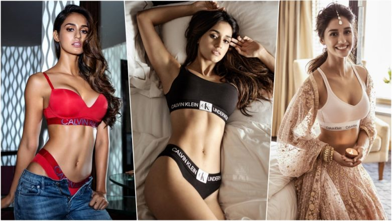 Disha Patani in Calvin Klein Images & HD Wallpapers: All the Time Bollywood Actress Flaunted Her HOT Toned Body in High-End Lingerie Collection