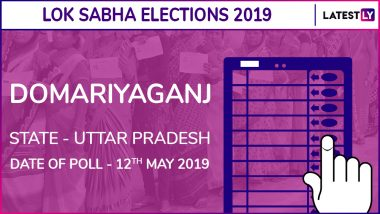 Domariyaganj Lok Sabha Constituency in Uttar Pradesh Results 2019: Jagdambika Pal of BJP Wins Parliamentary Election