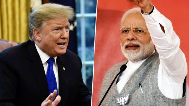 Narendra Modi Targets Pakistan in Phone Conversation With Donald Trump, Says 'Incitement to Anti-India Violence Not Conducive to Peace'