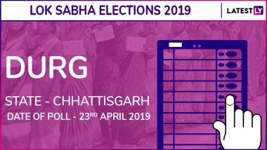 Durg Lok Sabha Constituency in Chhattisgarh Results 2019: BJP Candidate Vijay Baghel Elected as MP