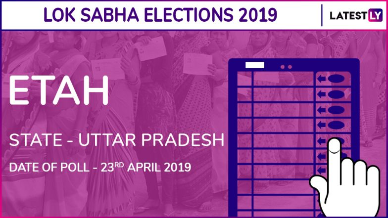Etah Lok Sabha Constituency in Uttar Pradesh Live Results 2019: Leading Candidates From The Seat, 2014 Winning MP And More