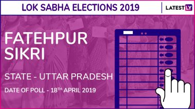 Fatehpur Sikri Lok Sabha Constituency in Uttar Pradesh Live Results 2019: Leading Candidates From The Seat, 2014 Winning MP And More