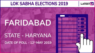 Faridabad Lok Sabha Constituency in Haryana Live Results 2019: Leading Candidates From The Seat, 2014 Winning MP And More