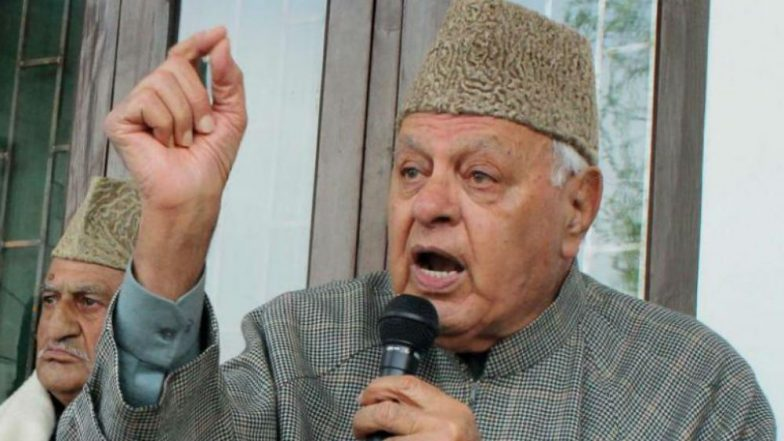 Farooq Abdullah Asks Centre to Hold Talks with Stakeholders in Jammu and Kashmir