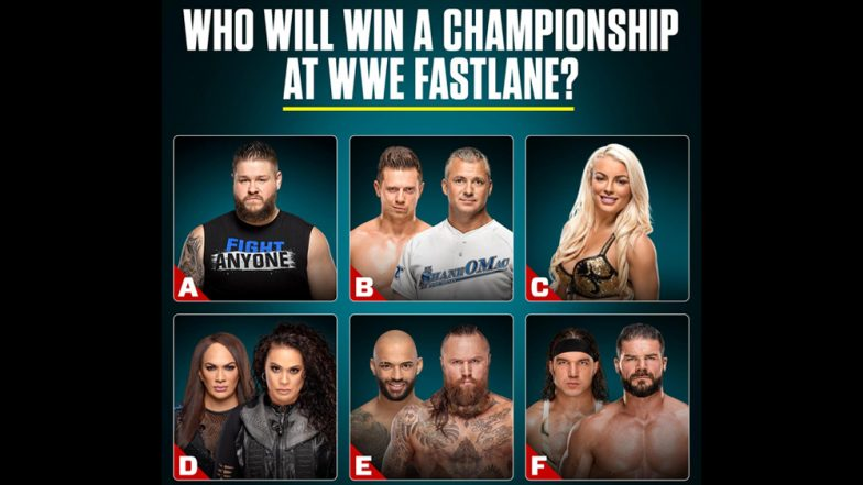 WWE Fastlane Mar 10, 2019 Live Streaming & Match Timings: Preview, Predictions, TV  & Free Online Telecast Details of Today's Fights