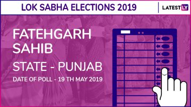 Fatehgarh Sahib Lok Sabha Constituency in Punjab Results 2019: Congress Candidate Amar Singh Elected as MP