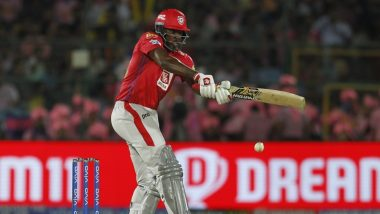 Chris Gayle on Verge of Becoming the First Batsman to Smash 300 Sixes in IPL, Could Achieve Feat During KKR vs KXIP Match