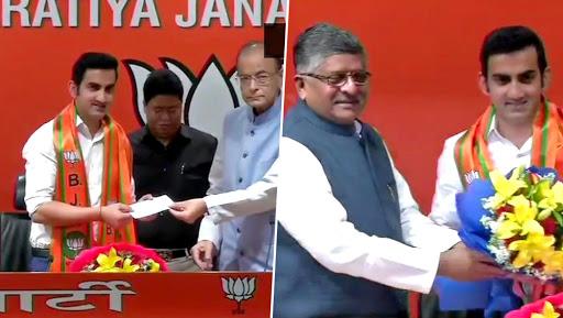 Gautam Gambhir Joins BJP Ahead Of Lok Sabha Elections 2019, Says 'I've Been Inspired by PM Narendra Modi'