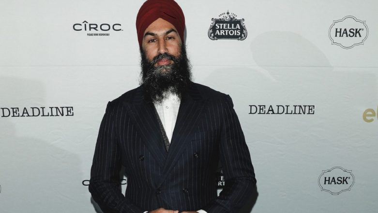 Indian-Origin Jagmeet Singh Makes History in Canada's Parliament, Debuts as First Non-White Opposition Leader