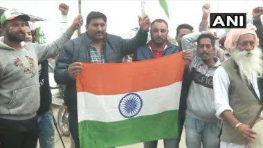 People Gather at Attari Border in Amritsar, Await Return of Captured IAF Pilot Abhinandan Varthaman From Pakistan