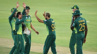 South Africa Team for ICC Cricket World Cup 2019: Proteas Name Hashim Amla, Dale Steyn in 15-Man Squad for CWC19; Pacer Anrich Nortje Also Included