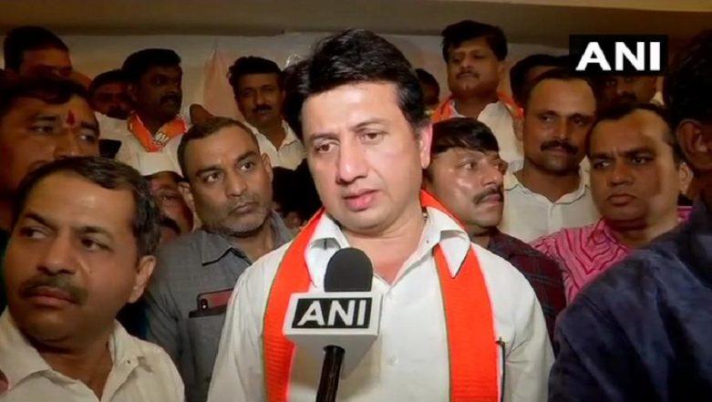 Mumbai: Former NCP MP Ranjitsinh Mohite Patil Joins BJP
