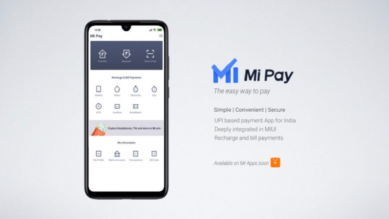 Xiaomi Launches UPI Payments App 'Mi Pay' in India, Will Take On Google Pay and Paytm