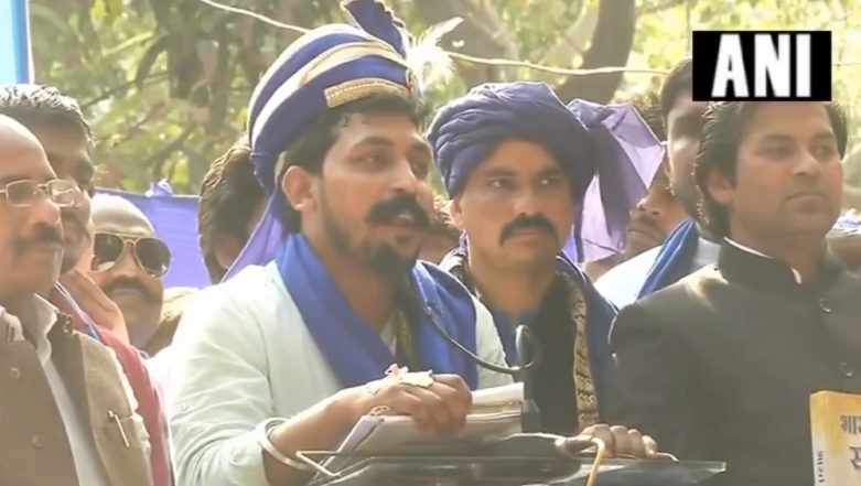 Bhima-Koregaon Like Violence Can Recur If Constitution Is Tampered With, Says Bhim Army Chief Chandrashekhar Azad at Hunkar Rally