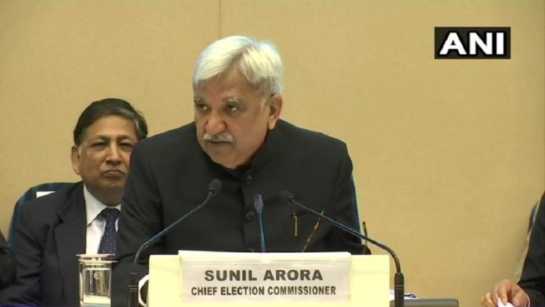 Lok Sabha Elections 2019: Indian Voter Population Is 900 Million, Says CEC Sunil Arora