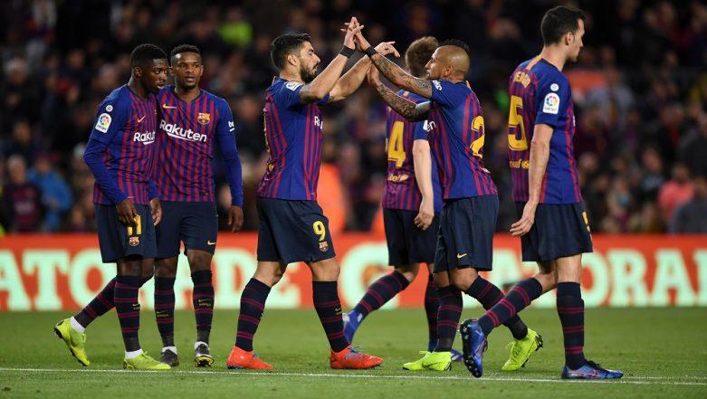 La Liga 2018-19: Barcelona Thrashes Rayo Vallecano 3-1