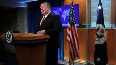 US Secretary of State Mike Pompeo Makes Unannounced Trip to Iraq Amid Rising Tensions With Iran