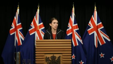 New Zealand PM Jacinda Ardern Says Christchurch Mosque Shooter Wants 'Notoriety', Vows Never to Mention His Name, Watch Video