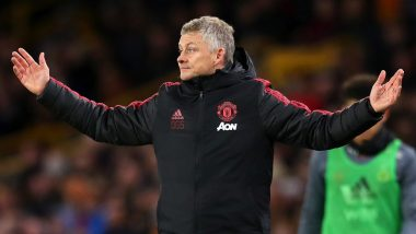 Manchester United Manager Ole Gunnar Solskjaer Loses His Cool, Berates Jesse Lingard During Derby Clash in EFL Cup 2019-20 (Watch Video)