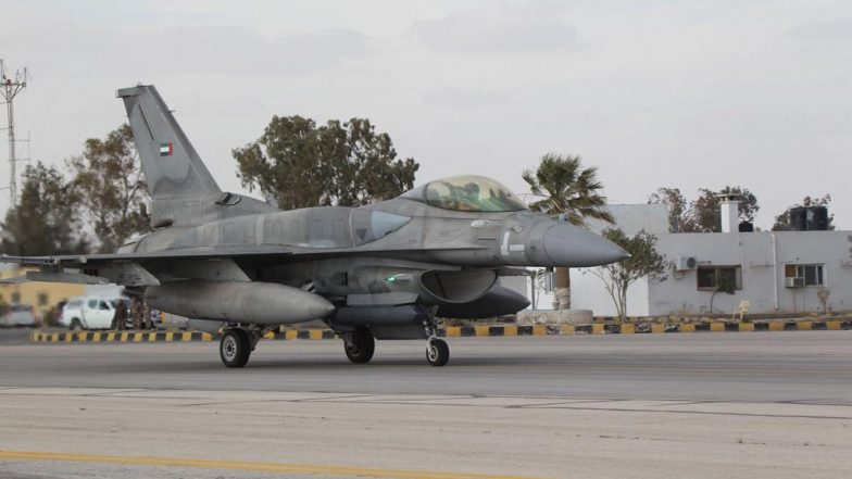 F-16 Fighter Jet Crashes Into California Building, Pilot Ejects Safely
