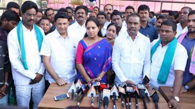 TRS Leader K Kavitha's Supporter Dies of Shock Over Her Defeat in Lok Sabha Elections 2019