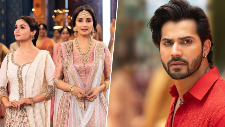 Kalank Song Ghar More Pardesiya: Alia Bhatt, Madhuri Dixit's Camaraderie and Shreya Ghoshal's Vocals Receive a Thumbs Up From Twitterati