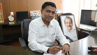 Pramod Sawant Tests Positive For COVID-19, Goa CM Opts For Home Isolation