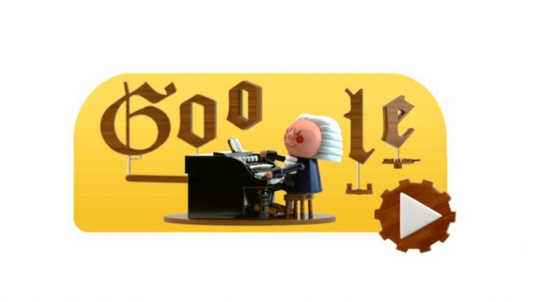 First artificial intelligence Google Doodle features Bach - Newswatch