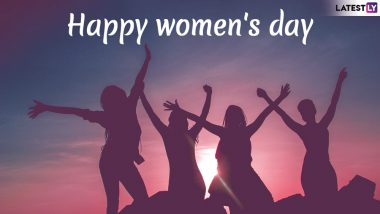 International Women's Day 2020 Greetings: WhatsApp Stickers, Facebook Messages, GIF Images, SMS And Quotes to Send to The Special Women in Your Life