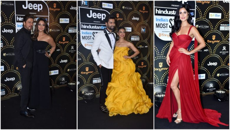 HT India's Most Stylish 2019 Awards Full Winners' List: Shah Rukh Khan-Gauri, Katrina Kaif, Vicky Kaushal Take Away the Coveted Trophies