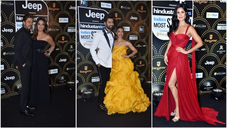 HT India's Most Stylish 2019 Awards Full Winners' List: Shah Rukh Khan-Gauri, Katrina Kaif, Vicky Kaushal Take Away the Coveted Trophies