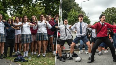 New Zealand Terror Attack: Students Perform Traditional Haka Dance to Honour Victims of Christchurch Mosque Massacre (Watch Emotional Videos)