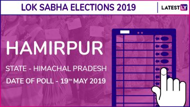 Hamirpur Lok Sabha Constituency in Himachal Pradesh: Candidates, Current MP, Polling Date And Election Results 2019