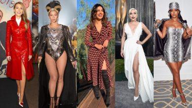 International Women's Day 2019: Priyanka Chopra, Lady Gaga, Beyonce, Rihanna - The Most Stylish Hollywood Divas Who Wear Their Heart On Their Sleeves!