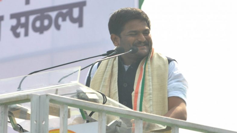 Hardik Patil Joins Congress in Presence of Rahul Gandhi, Likely to Contest From Jamnagar in Lok Sabha Elections 2019