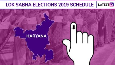 Haryana Lok Sabha Elections 2019 Dates: Constituency-Wise Complete Schedule Of Voting And Results For General Elections